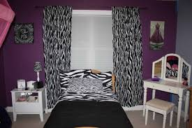 Zebra Print Decorating Ideas Bedroom Purple And Black Zebra