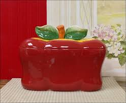 Tuscan Canisters Kitchen by Kitchen Red Glass Canisters Pottery Canister Sets Modern