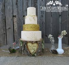 personalized heart in tree cake stand u2013 countrychapelweddings com
