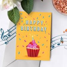 120s birthday card happy birthday musical greeting card singing