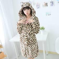 robe de chambre leopard peignoir léopard fantaisie pour femme lepeignoir fr