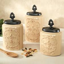kitchen canisters ceramic large kitchen canisters ceramic canister set glass white