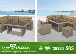 Outdoor Rattan Corner Sofa Garden Furniture Modern Design And Popular Patio Furniture Outdoor