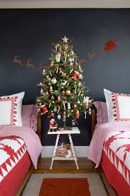 decoration red christmas trees traditional tree fantastic