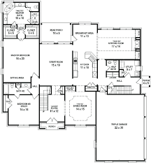 4 bedroom floor plans one story free 4 bedroom house plans south africa