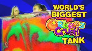 Challenge Official The World S Orbeez Crush Tank Challenge Official Orbeez