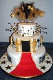 southern blue celebrations movie star movie night cake ideas