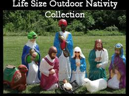 outdoor nativity sets yonderstar