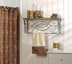 Bathroom Accessory Sets With Shower Curtain by Leopard Bathroom Decor Design Ideas U0026 Decors