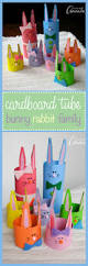 cardboard tube bunny rabbit family an cute easter craft kids will