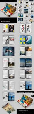 magazine layout size simple multipurpose magazine template indesign indd 26 pages a4