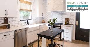 Show Cabinets Wolf Cabinets Featured On Hgtv U0027s Property Brothers Home Elements