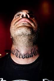 Don T Tread On Me Tattoo Ideas Aaron Lewis Of Staind Gets Tattooed At Hart U0026 Huntington Tattoo Co