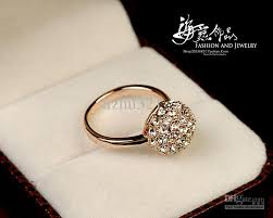 gold nice rings images 2018 fashion ball diamond yellow gold ring nice gift size 6 7 8 jpg