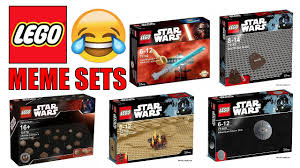 Funny Lego Memes - funny lego star wars meme sets youtube