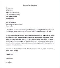 sample business proposal cover letter 7 documents in pdf