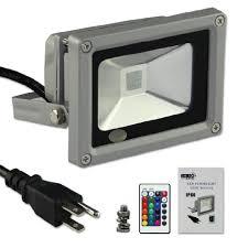 Color Changing Flood Lights Buy Esco Lite 20w Rgb Color Changing Led Flood Light With Memory