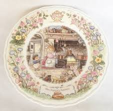 nivag collectables wedgwood foxwood tales mrs rabbit u0027s kitchen