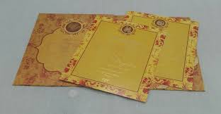 Wedding Invitation Cards Floral Wedding Invitation Card