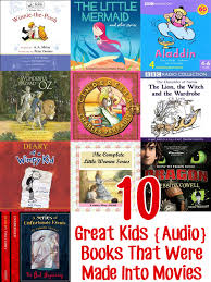 10 Great Books About For 10 Popular Audio Books That Were Made Into Childhood101