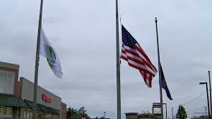 Why Are The Flags Flying Half Mast Flags Being Lowered For State Trooper Who Died After Crash Fox17