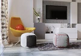 Yellow Upholstered Chairs Design Ideas Fabric Ottomans Also Wall Mount Tv Idea Feat Modern Yellow