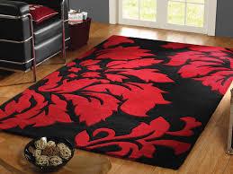 Red White Black Rug Black Red Area Rug Roselawnlutheran