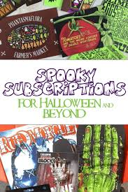 spooktacular halloween subscription boxes to trick out your treats