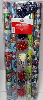 mickey wrapping paper disney mickey mouse friends christmas wrapping paper