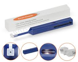 one click lc mu 1 25mm fiber optic cleaning tool lc fiber tip cleaner