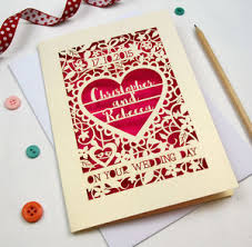 wedding card to personalised wedding cards notonthehighstreet