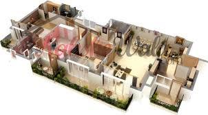 Inspiring 3d Floor Plans 3d House Design 3d House Plan Customized