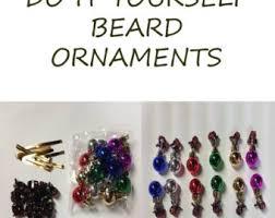 diy beard ornaments kit set of 12 beard beard