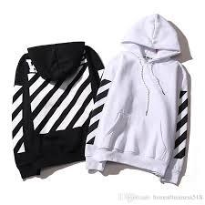 2017 sale off white hoodie men women hip hop fashion trend
