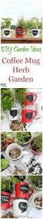 diy garden ideas coffee mug herb garden tutorial must have mom