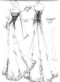 sketches of dress design sketches i sketches brides
