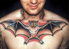 60 marvelous bat tattoos on chest