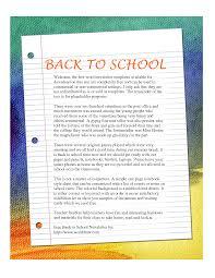 best photos of kindergarten newsletter templates word doc