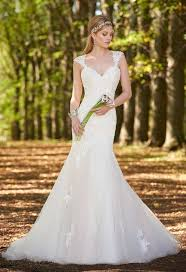 cap sleeve wedding dress tulle and lace capped sleeve wedding dress from camille la vie and
