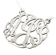 charm necklace letters images Aj 39 s collection personalized jewelry three initials charm jpeg