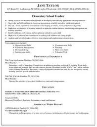 English Teacher Resume Sample by Download Sample Resume For Teachers Haadyaooverbayresort Com