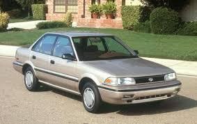 toyota corolla hatchback 1991 used 1991 toyota corolla sedan pricing for sale edmunds