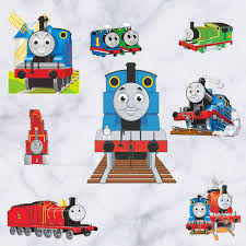 shop cartoon thomas train wall stickers kids room