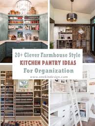 light wood kitchen pantry cabinet 20 clever farmhouse style kitchen pantry ideas for organization