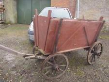wooden cart ebay