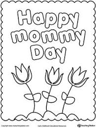 happy mother u0027s coloring pages kids printable free