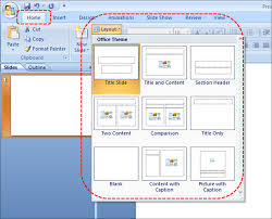 template in powerpoint 2007 change the default template or theme