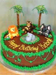 jungle theme cake jungle theme cake ideas frozen themed birthday cakes best easy
