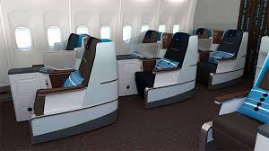 Economy Comfort Class Klm Launches New Seats In Economy And Business Class Thailand