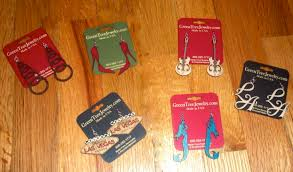 green tree earrings lipstick and candy cigarettes green tree jewelry earrings haul 2